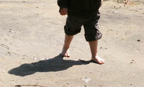 Alexandre, on the beach