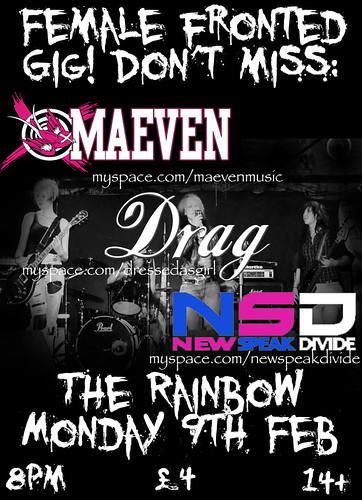 NSD - rainbow 9th feb