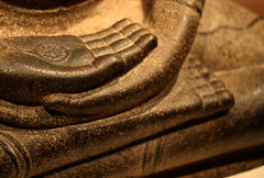 Buddha Seated in Meditation (Dhyanamudra), Ind...