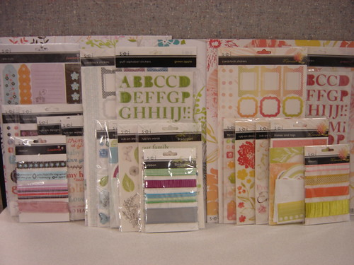 Up for grabs: SEIs Lovebirds, Green Apple and Grapefruit collections.