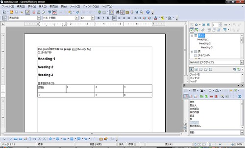 Test Document 2 on OpenOffice.org 3.1 RC2