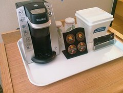 We have new in-room coffeemakers!