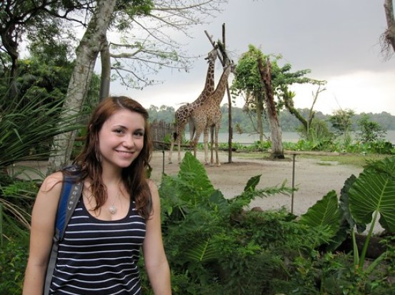 Me and the Giraffes