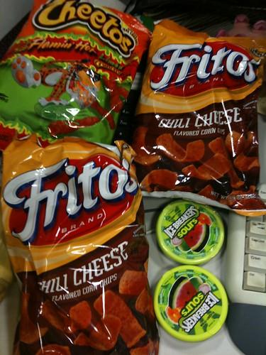 snack hauls