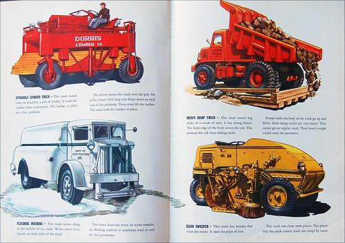 Four Specialized Trucks by Telstar Logistics.