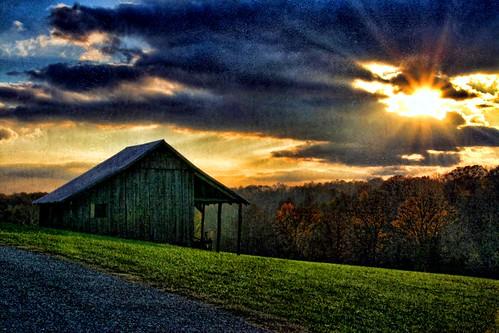 A Farmers Sunset