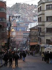 La Paz, calle Santa Cruz
