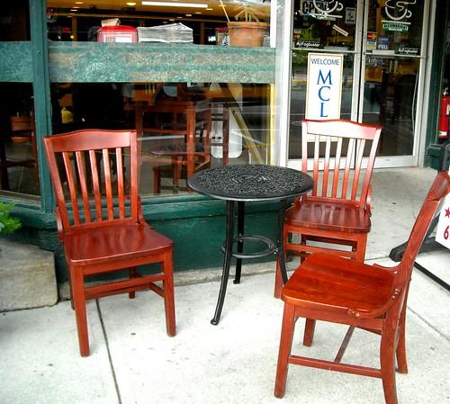 Outdoor Cafe in North Adams, MA