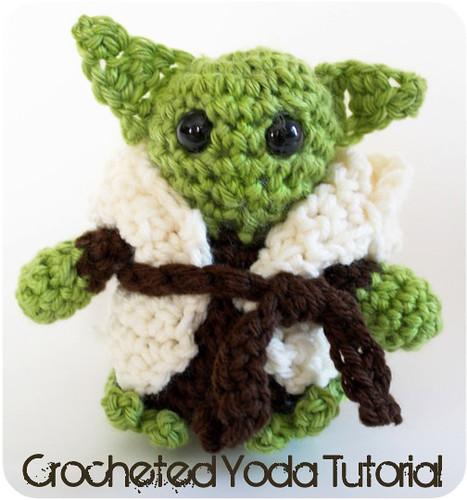 Free Star Wars Crochet Patterns yoda
