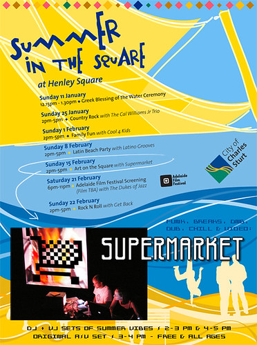 Summer on the Square featuring Supermarket