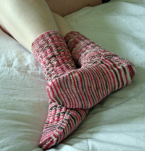 365.257 - Valentine's socks