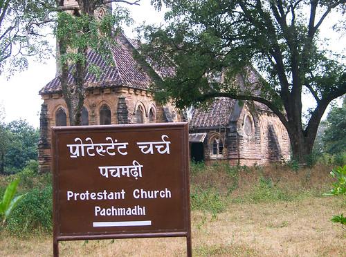 Iglesia protestante en Pachmarhi.