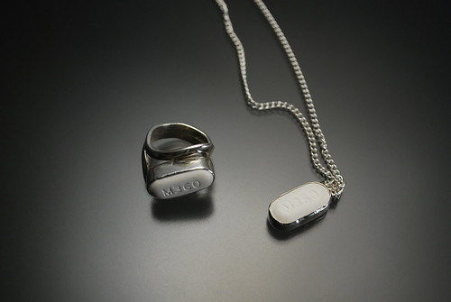 Vicodin Ring and Pendant