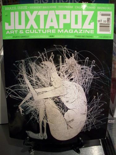 juxtapoz 102 july brazil