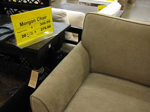 couch at World Market