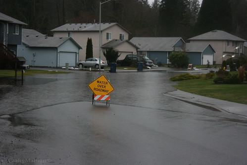Water Over Roadway Sign