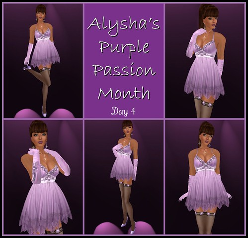 BLOG:  Aly's Purple Passion Month - Day 4