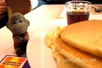 Sagos Three Peso Pancakes