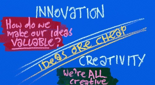 Innovation vs Creativity -- Erich Viedge by royblumenthal, on Flickr