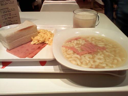 美心MX breakfast set
