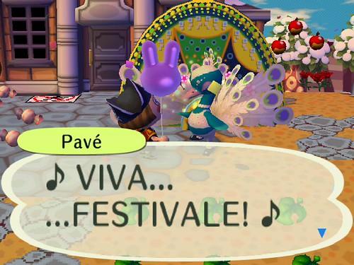 Its Mardi Gras... I mean, Festivale!
