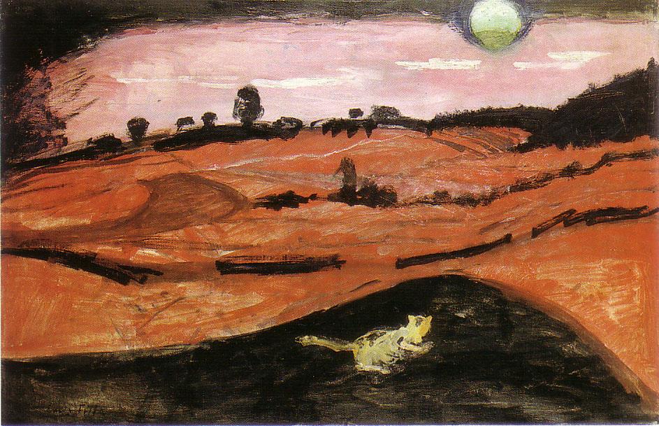 Emil Filla, 'Night of Love,' 1907, oil on canvas