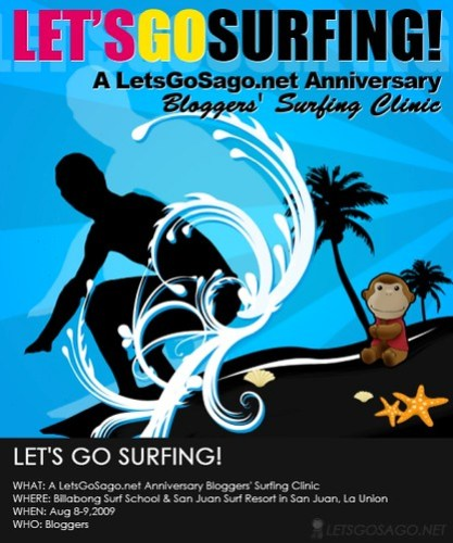 Lets Go Surfing - Anniversary Surfing Clinic