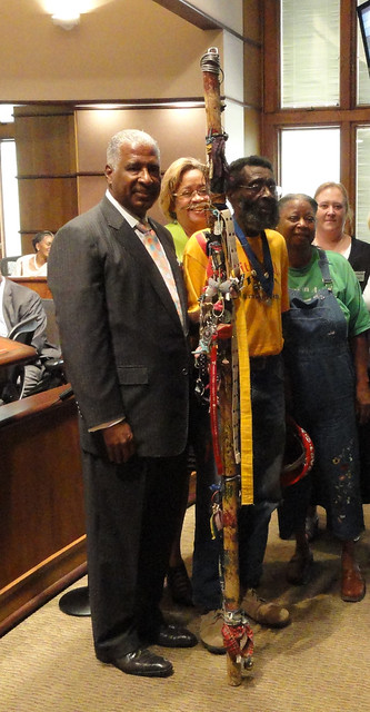 Joe Minter at Bham City Council