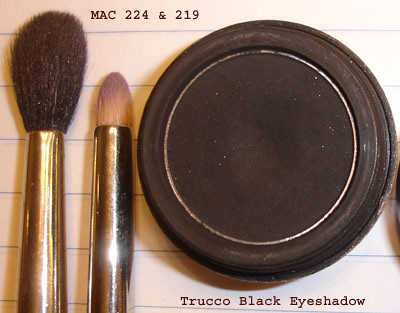 MAC 224 & 225 Brushes - Trucco Moonshade Eyeshadow