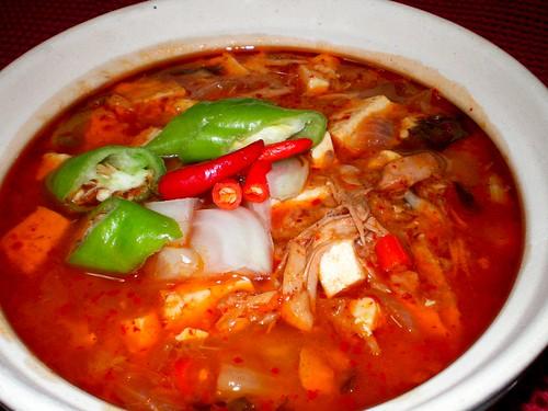 Home cooking - ChamChi KimChi Jjigae