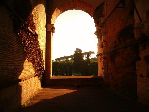 Fuite au travers d'une voute du Colisée