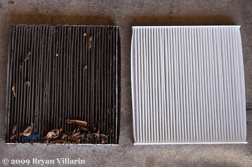 Change your cabin air filter already