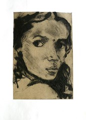 Drypoint - Chine Colle
