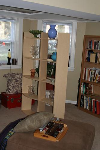 Living Room - Shelves