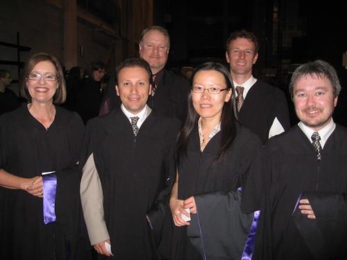 ECMM gang (l-r) Cindy, Arcadio, Shaun, Xing, Jeff, Jay