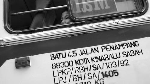 Bus in Kota Kinabalu