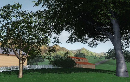 New Blue Mars City Tharsis Estates