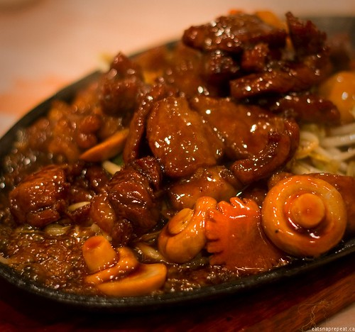 Poco Ocean 海富小館 - Japanese style pepper beef hot plate