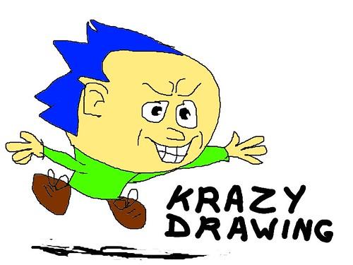 Krazy drawing