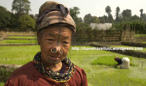My favorite lady in Ziro Valley