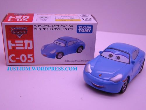Tomica Disney CARS Sally C05