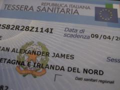 Ufficio Per Tessera Sanitaria : Tessera sanitaria u codice fiscale iii chris goes italy