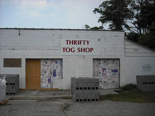 Thrifty Tog Shop, Yanceyville, NC