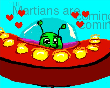 The Martians are coming!