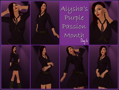 ALY'S PURPLE PASSION MONTH:  DAY 6