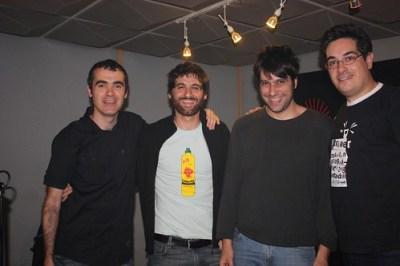 Con Carlos y Alberto de PAL