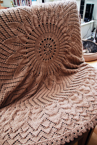 Girasole Blanket - FINISHED!