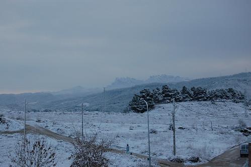 Durante el invierno...