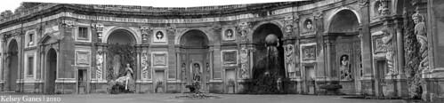 Villa Aldobrandini - Water Theater Panorama