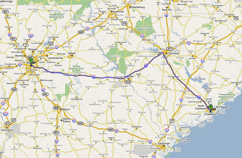 Atlanta 'Üí Charleston